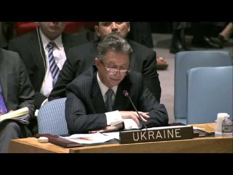 Ukraine's U.N. Ambassador describes the situation in eastern Ukraine in details.