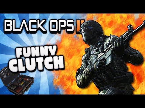 Black Ops 2 Make 'Em Clutch It - Funny Moments, Girl Gamer Rage Quit, Wins & Fails!