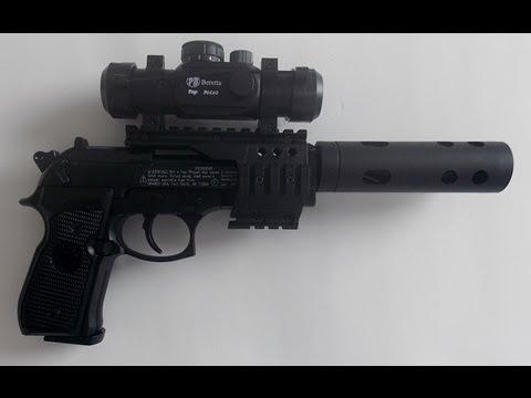 Pistola co2 Beretta xx-treme full metal chumbinho 4.5mm