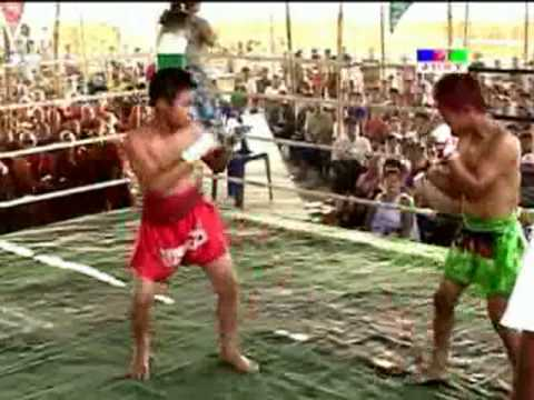 Myanmar(Burma) lethwei kid, KO fight Image 1