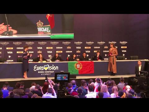 Winners pressconference - Portugal - Salvador Sobral - Eurovision 2017