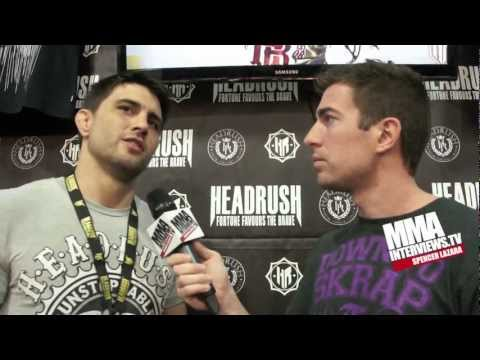 Carlos Condit talks Johny Hendricks, GSP vs Diaz at UFC 158 & working for St. Pierre rematch