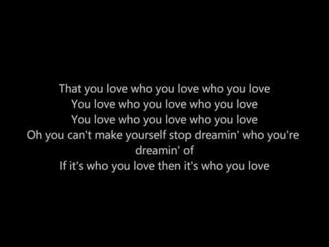 Who You Love - John Mayer (feat. Katy Perry) (Lyrics)