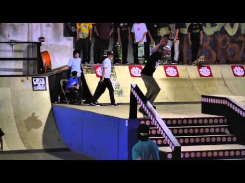 ELEMENT &quot;KANSAS CITY&quot; MAKE IT COUNT - 2012 INTERNATIONAL SKATE CONTEST SERIES