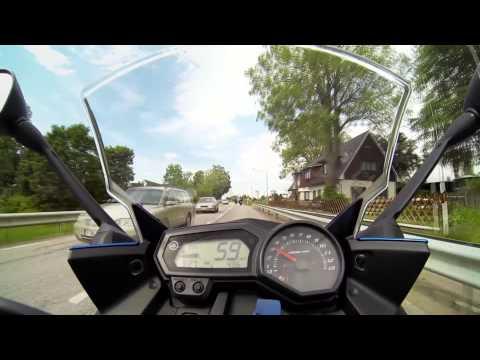 Yamaha XJ6 F & FJR1300 & FZS 600 Fazer - Summer Touring 2013 [W/O Music]