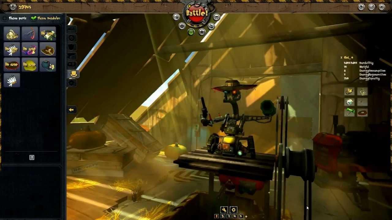 Robot Assembly Game Guns And Robots Robot Assembly