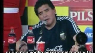Maradona goes crazy