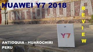 Huawei Y7 2018 | Review en Español | Un gama media con detalles que prometen