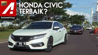 Review Honda Civic Turbo and test drive by AutonetMagz