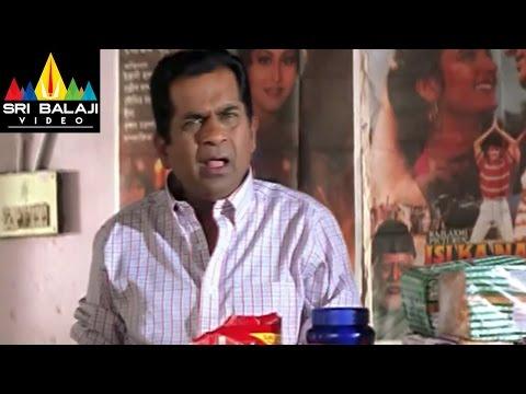 Kaasi Movie Brahmi and avs idly comedy Scene - JD Chakravarthy, Keerthi Chawla