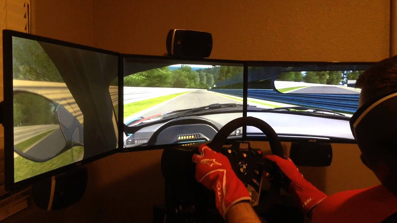 Bmw Z4 Gt3 7 10 Nordshleife Project Cars Pre Alpha Triple Screen Youtube