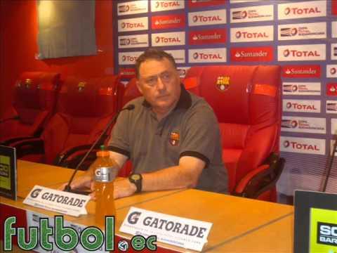 Rubén Israel Post Partido Barcelona 3 - Alianza Lima 0