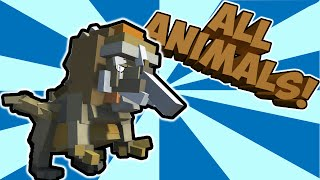 HYBRID ANIMALS CREATIONS! Mixing all the animals! (Let's Play Hybrid Animals Gameplay)