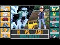 Ash vs. N (Pokémon SunMoon) - Unova Rival Battle