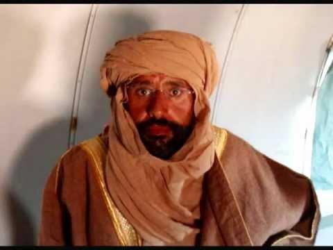 ليبيا سيف الإسلام القذافي بالطائرة Libya Saif Gaddafi on the plane
