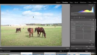 Adobe Lightroom Tutorial - Tips For Making Skies Blue