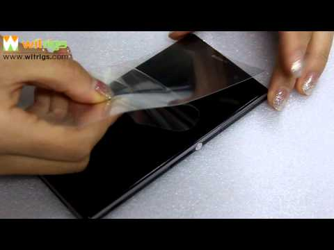 How to Remove Sony Xperia Z1 Anti Shatter Film