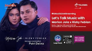 Download lagu Let's Talk Music with Marion Jola and Rizky Febian