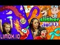 WHO'S RUSTY?? Slither.io vs. Limax.io (Another copycat or bet...