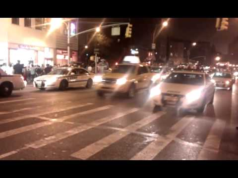NYPD descend on West Village after NY Senate passes Marriage Equality Act