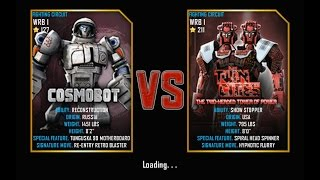 Real Steel FINAL WRB I Cosmobot VS Twin Cities (champion) NEW UPDATE (Живая Сталь)