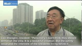 Download Beijing 'mountain top' villa torn down 3Gp Mp4