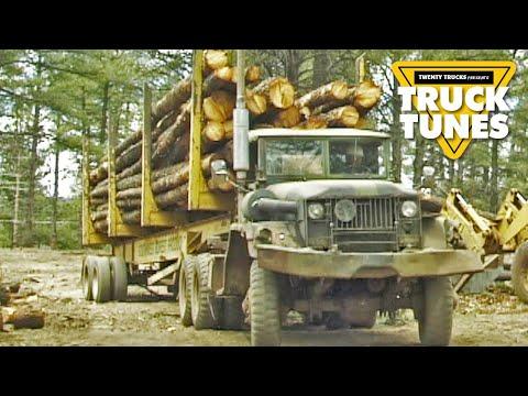 Kids Truck Video - Logging Truck
