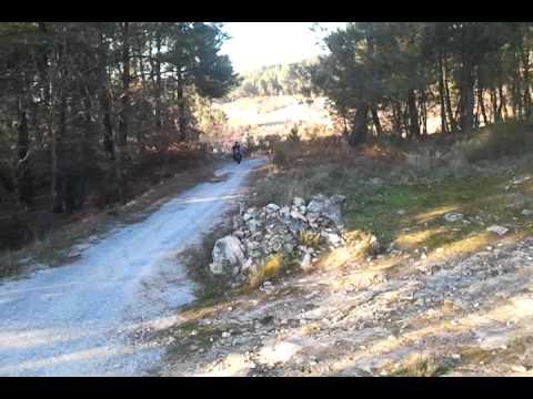 Subida da picada no Alto Pidre....(Mondim da Beira) Saschs 800 (Parte2)