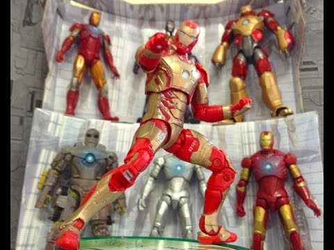 Iron Man Stop Motion - Hall of Armors
