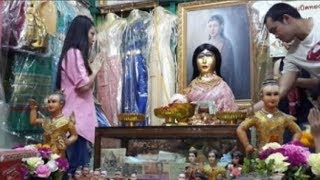 """Bí ẩn ngôi miếu thờ """"cô dâu ma"""", ma nữ nổi tiếng của người Thái- Nak Phra Khanong"""