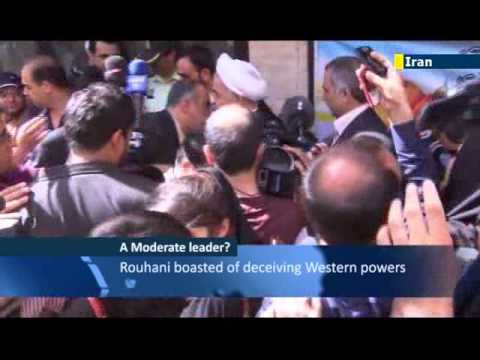 Hassan Rohani's 'moderate' credentials: Iran's new president backs atomic push and Islamic state