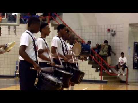 Forest Hill Patriots Drumline battle/exhibition @ 2nd Annual Jackson, MS band Extravaganza