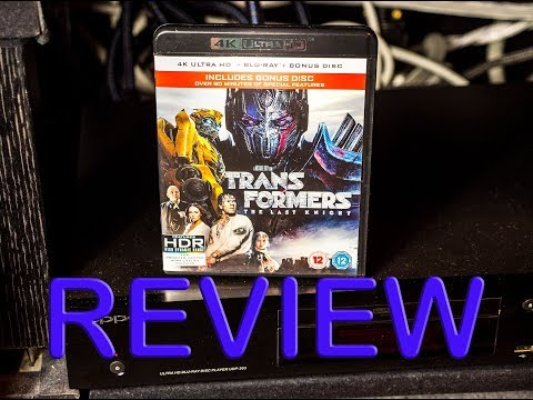 Transformers The Last Knight ULTRA HD 4k Blu Ray Review Spoiler Free - A Reason for Home Cinemas