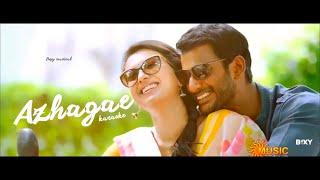 Kathakali - Azhage Azhage Karaoke | Trap instrumental | Andre nel Boxy | Hip hop tamilzha | 2016