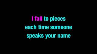 I Fall To Pieces Patsy Cline Karaoke You Sing The Hits