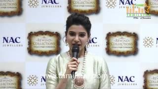 Samantha Inaugurates NAC Jewellers Antique Exhibition
