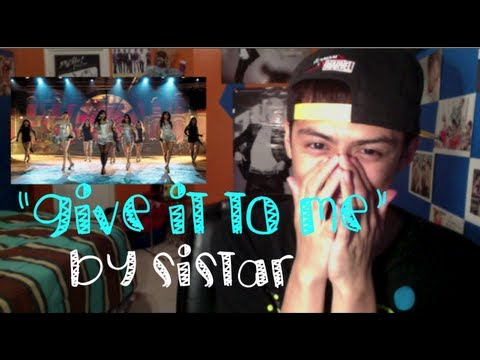 "MV Reaction: ""Give It To Me"" by SISTAR"