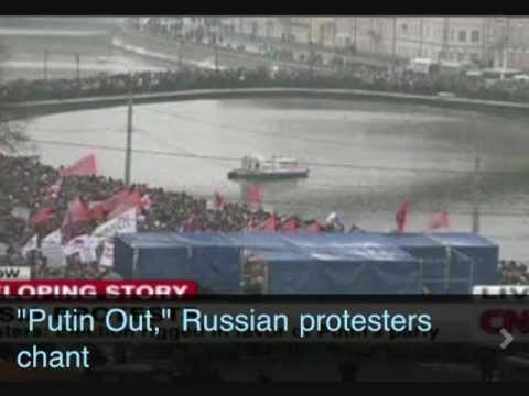 Russian election: Biggest protests since fall of USSR