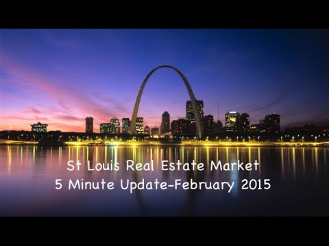 St Louis Real Estate Market Home Prices & Sales Update - February 2015