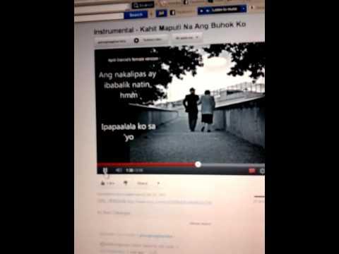 Kahit Maputi Na Ang Buhok Ko (duet Version) video