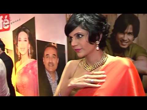 Mandira Bedi Filled Up Blouse