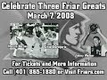 Marvin Barnes and Ernie DiGregorio Jersey Retirment Promo