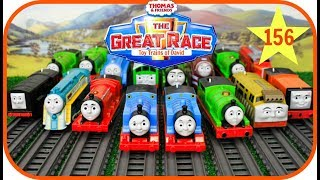 THOMAS AND FRIENDS THE GREAT RACE #156 TrackMaster Thomas & Friends Toy Trains for Kids