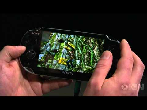 Uncharted: Golden Abyss - E3 2011: Gameplay Demo