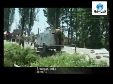 28-06-2010 : Clashes between people & Troops at Parimpora during Sopore March