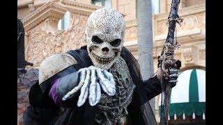 Opening Night Universal Orlando Halloween Horror Nights 27 | All Daylight Scare Zones, House Reviews