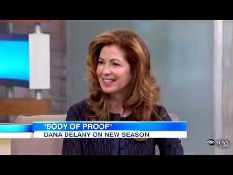 Dana Delany on GMA 18/02/13