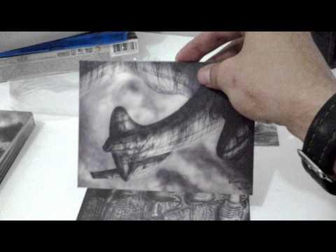 Unboxing Bluray Alien 35 anos edição especial H.R. Giger