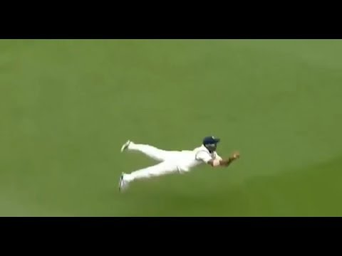 Indian Feilder Ajinkya Rahane Incredible Catch vs New Zealand