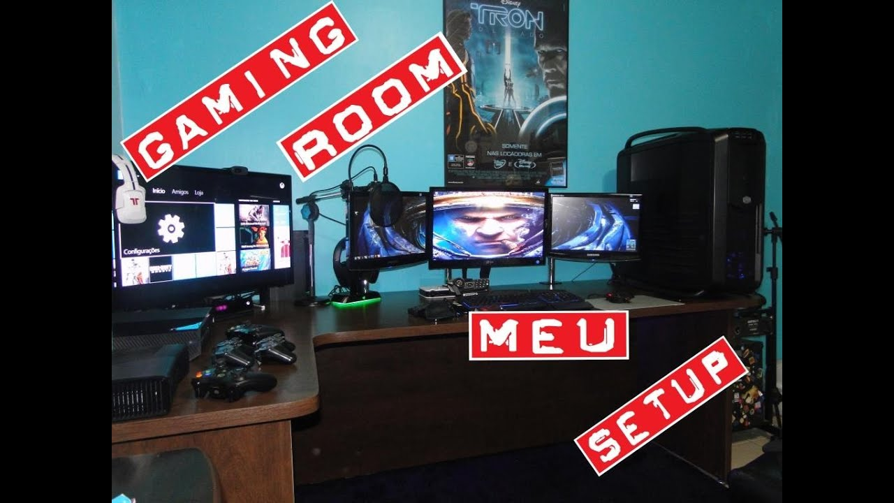 Quarto Gamer - Gaming Room ( Atualiza??o Final ) - YouTube